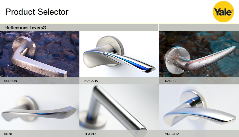 Reflections by Yale Product Selector