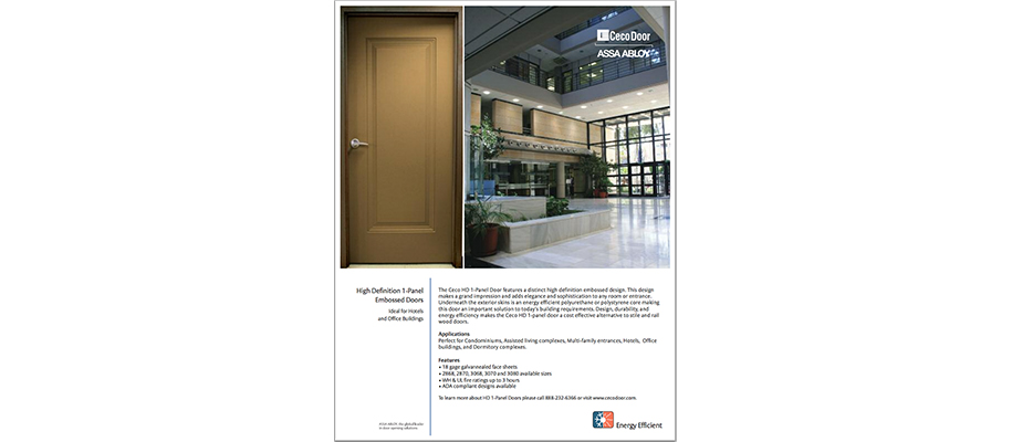 CECO Door High Definition  sc 1 st  The Good Design Studio & ASSA ABLOY - The Good Design Studio \u2013 Resource Library - Doors and ...