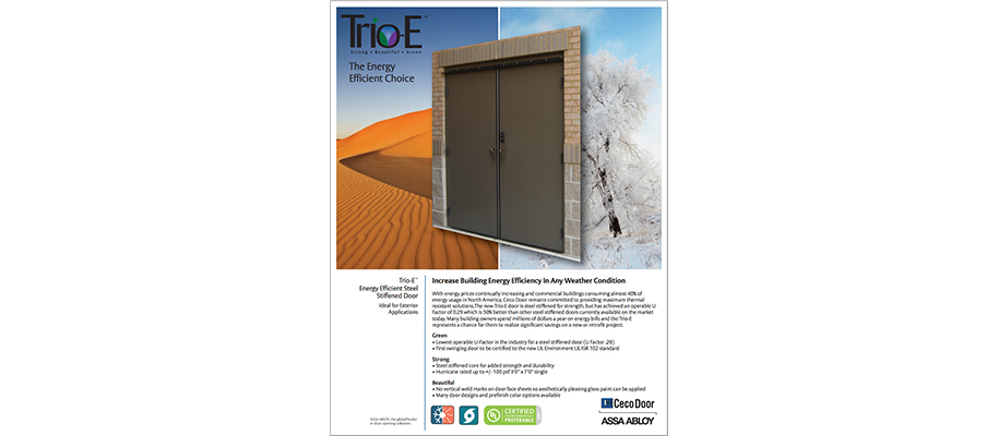 CECO Door Trio-E