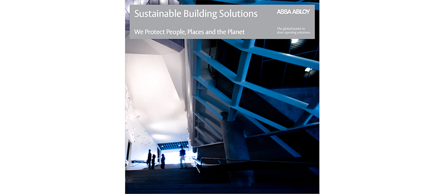 Sustainable Building Solutions Brochure