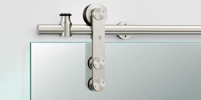 Sliding Track Hardware Systems, Glass