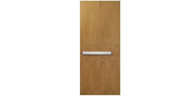 Wood Door Integrated Assembly